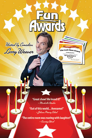 Funny Awards Show Host | Comedian Larry Weaver